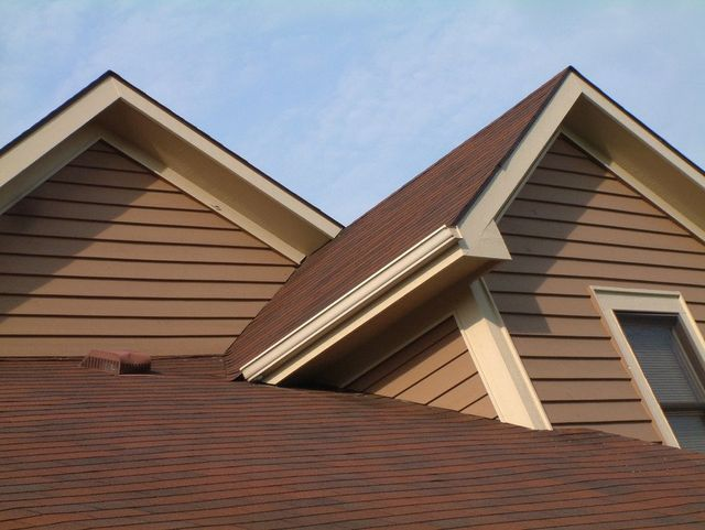 brown coloured roof